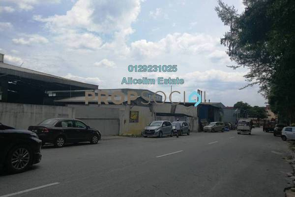 For Sale Factory at TSB Commercial Centre, Sungai Buloh Leasehold Semi Furnished 0R/2B 3.8m