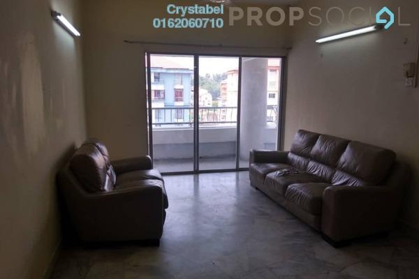 For Rent Condominium at Vista Angkasa, Pantai Freehold Semi Furnished 3R/2B 2k
