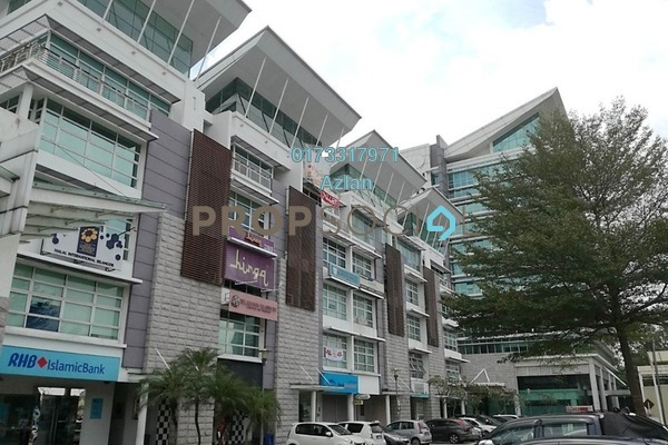 For Rent Office at Laman Seri, Shah Alam Freehold Unfurnished 0R/2B 3.3k