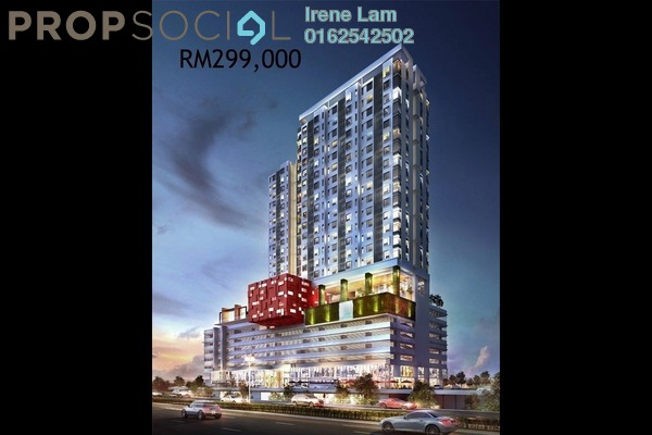 For Sale SoHo/Studio at Cube @ One South, Seri Kembangan Leasehold Fully Furnished 1R/1B 299k