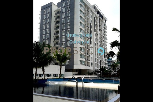 For Sale Serviced Residence at Zenith Residences, Kelana Jaya Freehold Semi Furnished 2R/2B 490k
