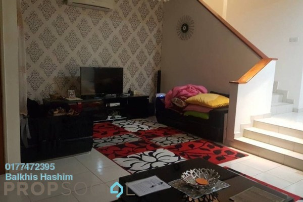 For Rent Terrace at Alam Budiman, Shah Alam Freehold Semi Furnished 4R/3B 1.5k