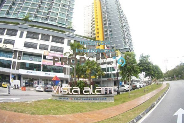 For Sale Serviced Residence at Vista Alam, Shah Alam Leasehold Unfurnished 3R/2B 500k