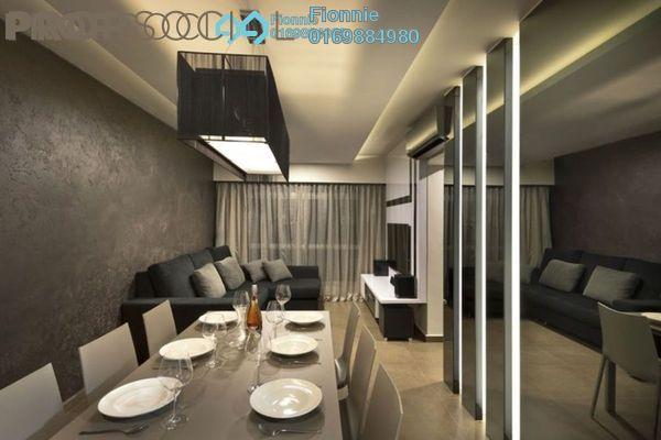 For Sale Serviced Residence at Alam Sanjung, Shah Alam Freehold Semi Furnished 3R/2B 433k
