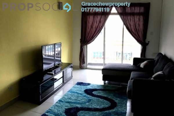 For Rent Apartment at Tebrau City Residences, Tebrau Freehold Fully Furnished 2R/2B 1.35k