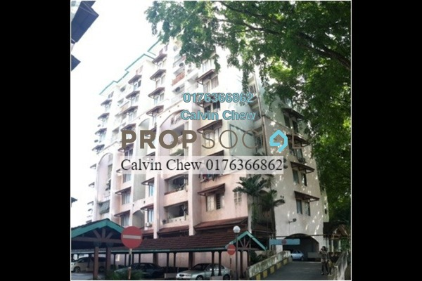For Sale Apartment at Ixora Apartment, Pudu Freehold Unfurnished 3R/0B 335k
