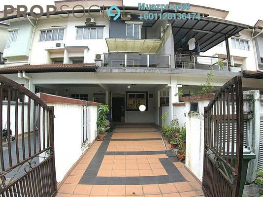 For Sale Townhouse at KiPark Sri Utara, Jalan Ipoh Freehold Semi Furnished 3R/3B 680k