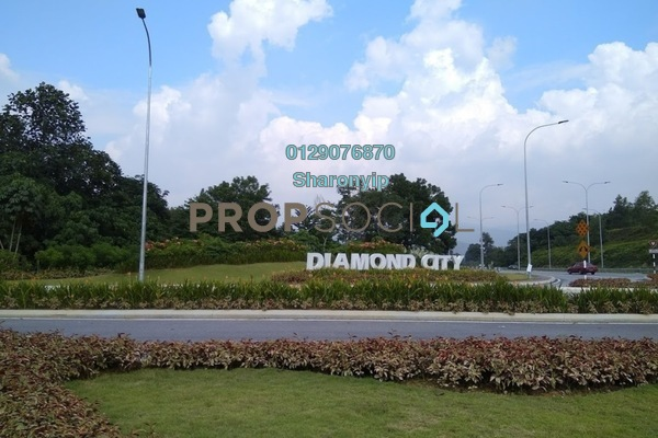 For Sale Semi-Detached at Diamond City, Semenyih Freehold Unfurnished 3R/4B 728k