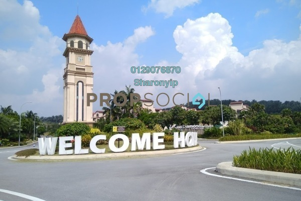 For Rent Semi-Detached at Diamond City, Semenyih Freehold Unfurnished 3R/4B 1.2k