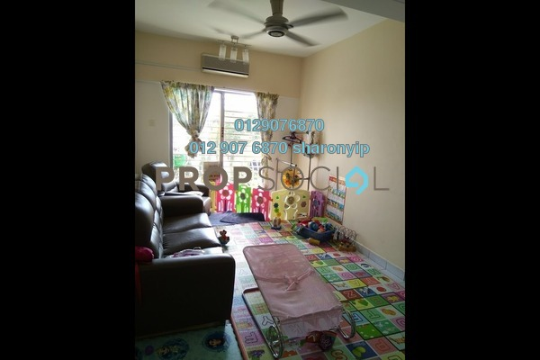 For Sale Condominium at Sri Hijau, Bandar Mahkota Cheras Freehold Semi Furnished 3R/2B 295k