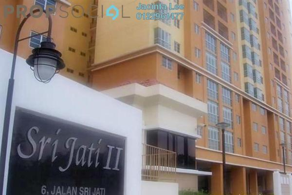 For Sale Condominium at Sri Jati II, Old Klang Road Freehold Unfurnished 3R/2B 430k
