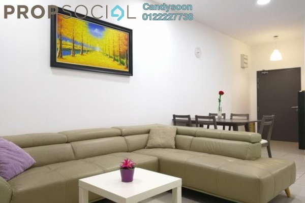 For Rent Serviced Residence at One South, Seri Kembangan Freehold Fully Furnished 3R/2B 2.6k