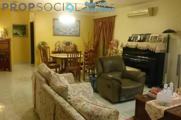 For Sale Terrace at Bandar Damai Perdana, Cheras South Freehold Semi Furnished 4R/3B 1.18m