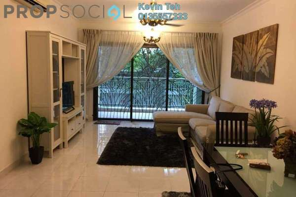 For Sale Condominium at Kiara Designer Suites, Mont Kiara Freehold Fully Furnished 3R/2B 800k