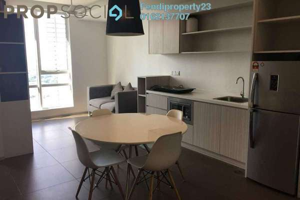 For Rent Condominium at Garden Plaza @ Garden Residence, Cyberjaya Freehold Fully Furnished 2R/2B 1.4k