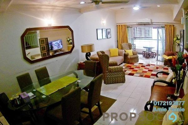For Sale Duplex at Seri Maya, Setiawangsa Freehold Semi Furnished 4R/2B 1.05m