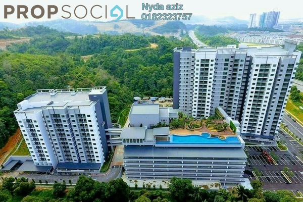 For Sale Condominium at Sutera Pines, Bandar Sungai Long Freehold Unfurnished 3R/2B 523k