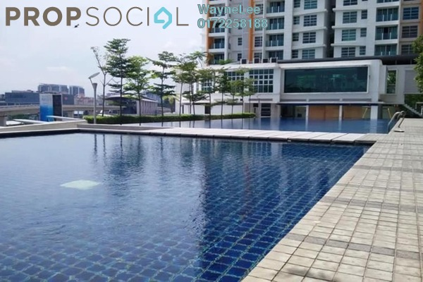 For Sale Condominium at The Zest, Bandar Kinrara Freehold Fully Furnished 3R/2B 600k