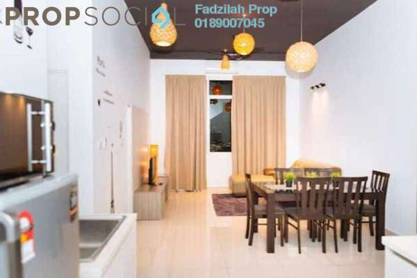 For Rent Condominium at Vue Residences, Titiwangsa Freehold Fully Furnished 3R/2B 3.3k