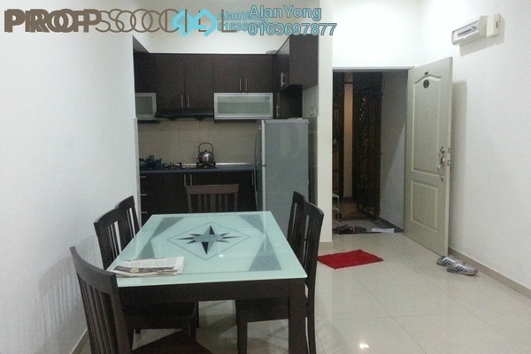 For Rent Condominium at Putra Majestik, Sentul Freehold Semi Furnished 3R/2B 1.65k