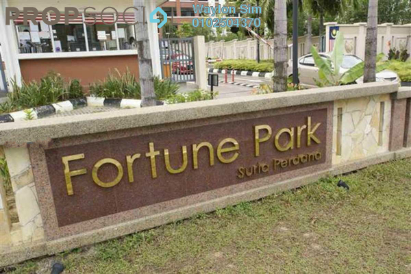 For Rent Condominium at Fortune Park, Seri Kembangan Freehold Fully Furnished 4R/2B 2.2k