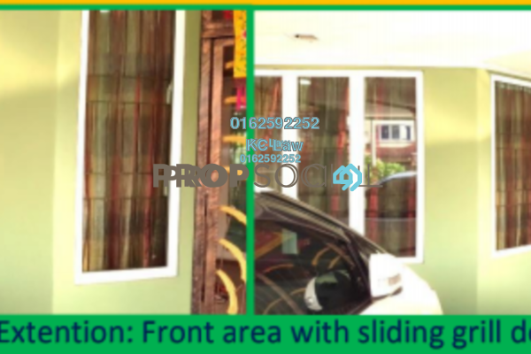 For Sale Terrace at Mutiara Puchong, Puchong Freehold Fully Furnished 3R/3B 1.28m
