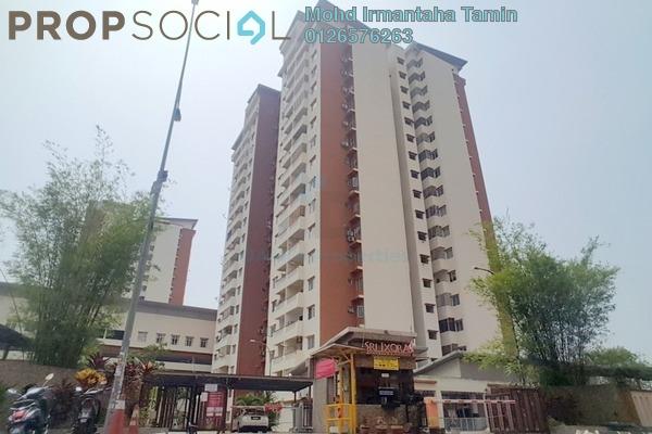 For Rent Apartment at Sri Ixora Apartment, Kajang Freehold Semi Furnished 3R/2B 1.3k