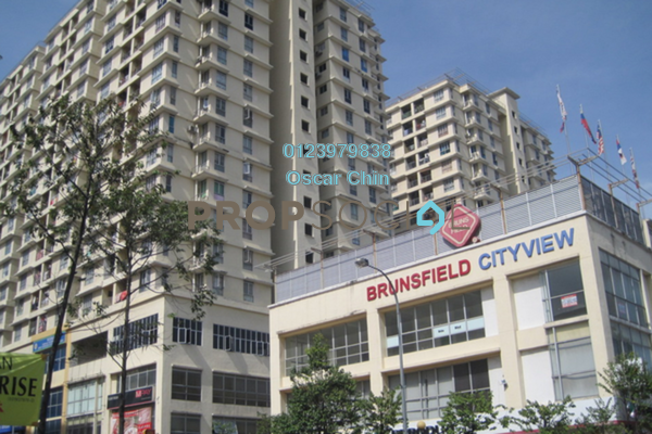 For Sale Condominium at Warisan Cityview, Cheras Freehold Semi Furnished 3R/2B 365k