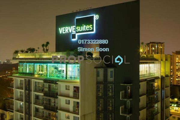 For Rent Condominium at VERVE Suites, Mont Kiara Freehold Fully Furnished 1R/1B 2.99k