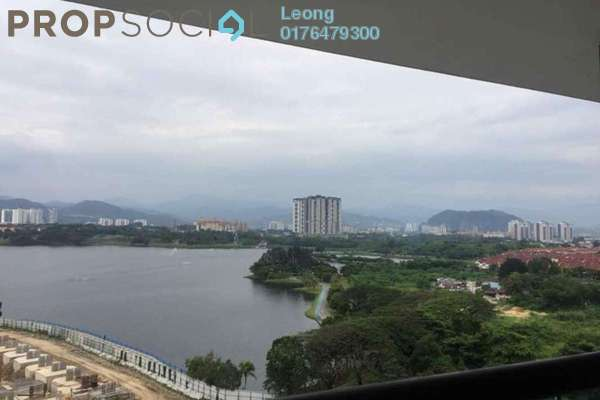 For Rent Condominium at Fortune Perdana Lakeside, Kepong Freehold Semi Furnished 3R/2B 1.8k