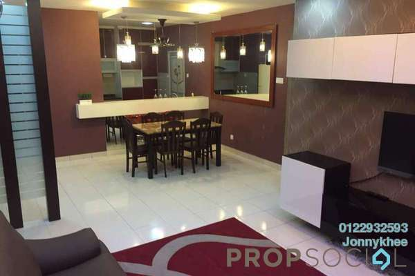 For Rent Condominium at Symphony Heights, Selayang Freehold Fully Furnished 4R/3B 1.9k