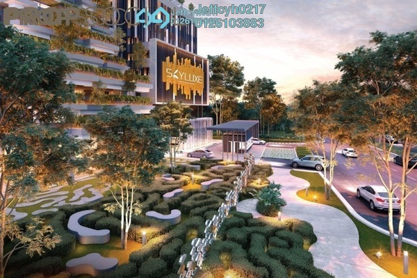 For Sale Serviced Residence at SkyLuxe On The Park, Bukit Jalil Freehold Semi Furnished 1R/1B 615k