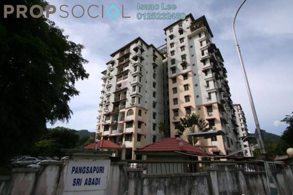For Rent Condominium at Sri Abadi Apartment, Sungai Ara Freehold Semi Furnished 3R/2B 800translationmissing:en.pricing.unit