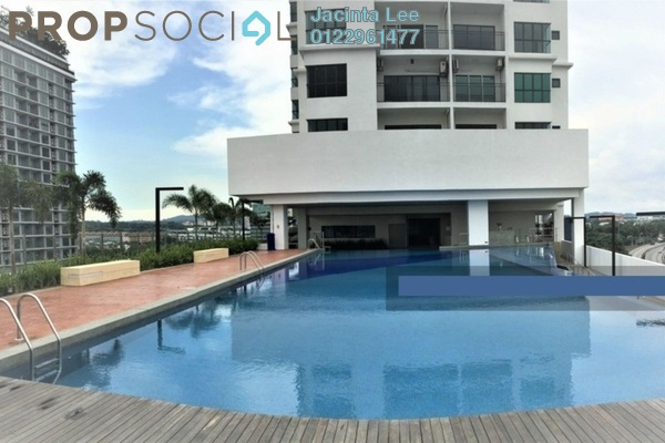 For Sale Serviced Residence at Metia Residence, Shah Alam Freehold Unfurnished 3R/2B 365k