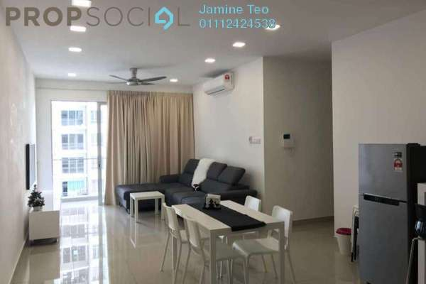 For Rent Condominium at Villa Crystal, Segambut Freehold Semi Furnished 4R/3B 2.5k