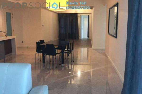 For Rent Condominium at Tiffani Kiara, Mont Kiara Freehold Fully Furnished 3R/3B 5.5k