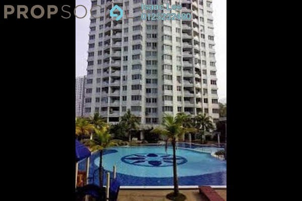 For Rent Condominium at U-Garden, Gelugor Freehold Semi Furnished 3R/2B 1.5k