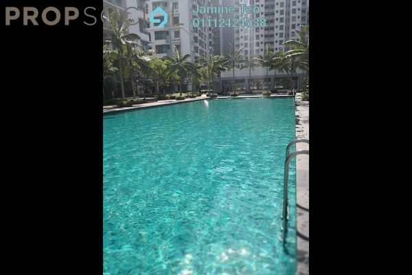 For Rent Condominium at Fortune Perdana Lakeside, Kepong Freehold Semi Furnished 3R/2B 1.7k