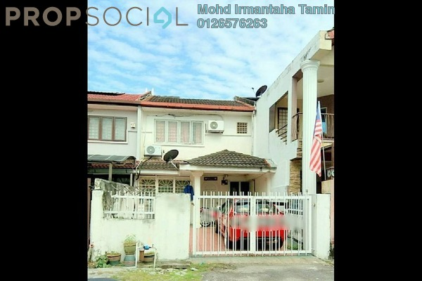 For Sale Terrace at Pandan Indah, Pandan Indah Leasehold Semi Furnished 4R/3B 550k