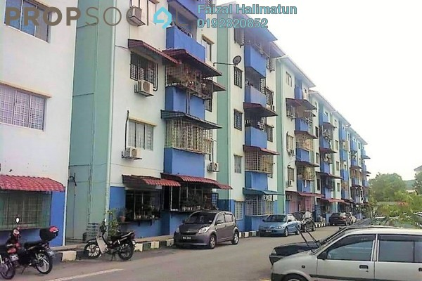 For Sale Apartment at Putra Indah Apartment, Bandar Putra Permai Freehold Unfurnished 3R/2B 235k