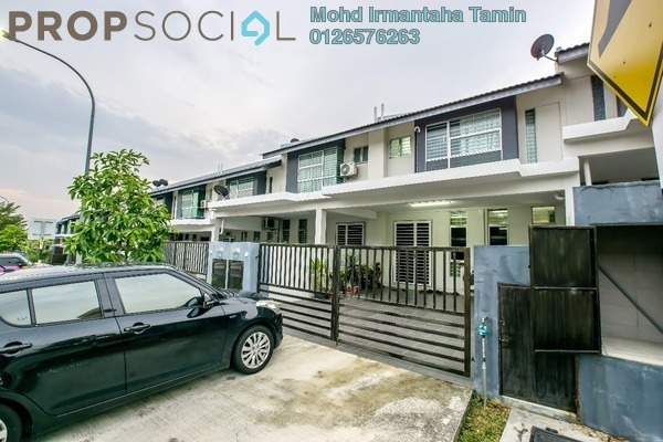 For Sale Terrace at Bangi Avenue, Kajang Freehold Semi Furnished 4R/4B 550k