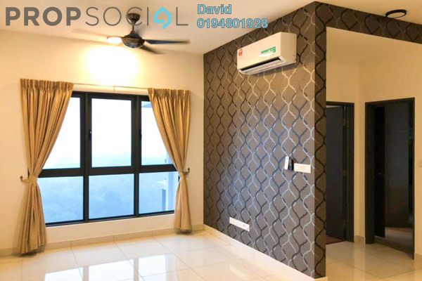 For Rent Condominium at The Link 2 Residences, Bukit Jalil Freehold Fully Furnished 1R/1B 2k
