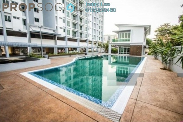 For Rent Condominium at Capri Park, Butterworth Freehold Unfurnished 3R/2B 1.2k