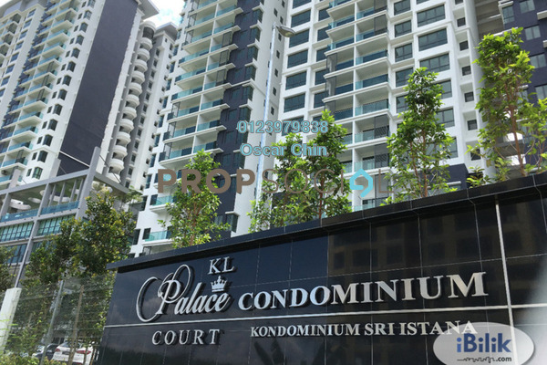 For Sale Condominium at KL Palace Court, Kuchai Lama Freehold Semi Furnished 3R/2B 630k