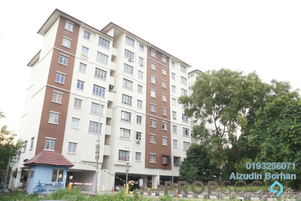 For Sale Apartment at Suria Subang Apartment, Shah Alam Freehold Unfurnished 3R/2B 290k