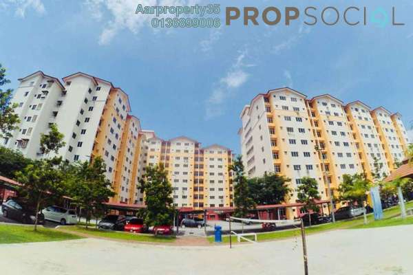 For Sale Apartment at Melor Apartment, Kajang Freehold Unfurnished 3R/2B 260k
