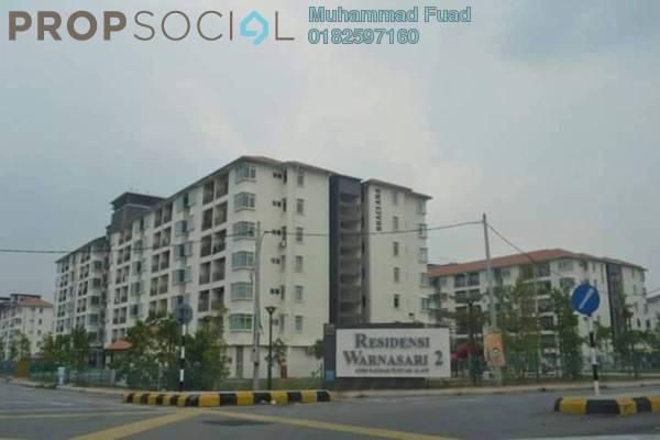 For Sale Apartment at Residensi Warnasari, Puncak Alam Freehold Unfurnished 3R/2B 250k