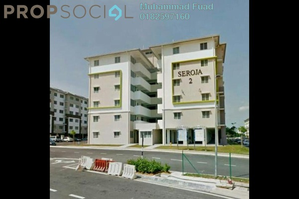 For Sale Apartment at Seroja Apartment, Setia Alam Freehold Unfurnished 3R/2B 170k