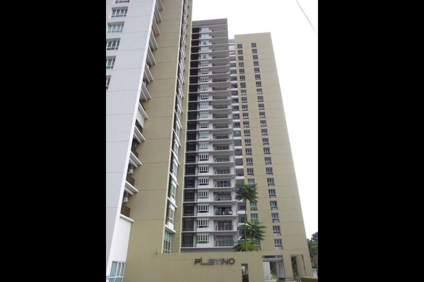 For Sale Condominium at Platino, Gelugor Freehold Fully Furnished 4R/3B 1.4m