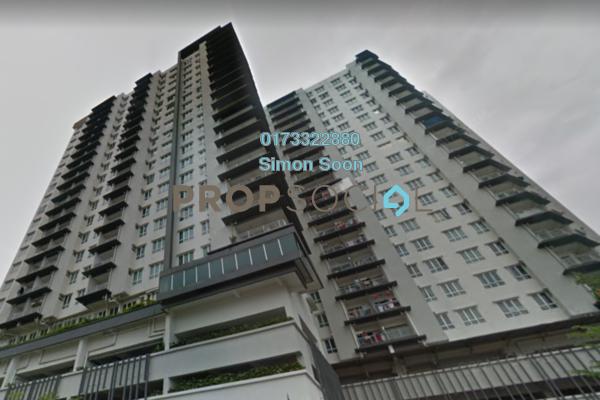 For Sale Condominium at Seri Puteri, Bandar Sri Permaisuri Freehold Semi Furnished 3R/2B 560k